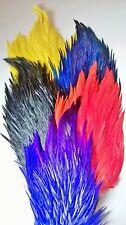Cock Saddle Cape, Grade AA, Choice from 9 colours,Fly tying feathers,materials