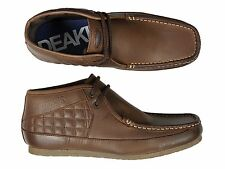 Mens Nicholas Deakins Keane Leather Ankle Boots Brown Shoe All Sizes 6 TO 12 UK