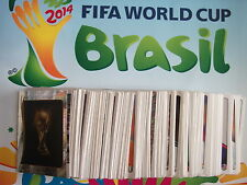 2014 FIFA World Cup Stickers Numbers 420-479 Panini Brasil Brazil Stickers Foils