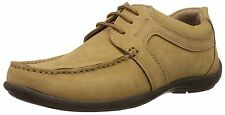 WOODLAND BRANDED SHOE IN CAMEL COLOUR FLAT TPR SOLE IN CASUAL WEAR LOOK