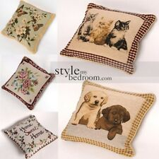 Classic Vintage Tapestry Filled Cushions or Cushion Covers - Double Sided Design