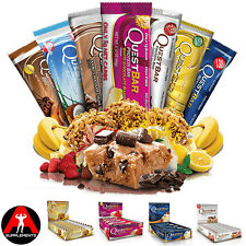 Quest Nutrition QuestBar High Fibre Protein Bars *12 Bars*