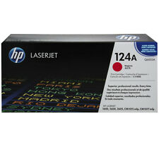 GENUINE HP HEWLETT PACKARD Q6003A 124A MAGENTA LASER PRINTER TONER CARTRIDGE