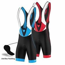 FDX Mens Classic Cycling Bib Shorts Coolmax® Padding Cycle  Shorts Bike Tights