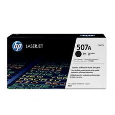 GENUINE HP HEWLETT PACKARD CE400A / 507A BLACK LASER PRINTER TONER CARTRIDGE