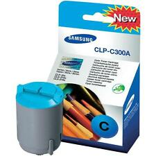 GENUINE SAMSUNG CLP-C300A ORIGINAL CYAN LASER PRINTER TONER CARTRIDGE