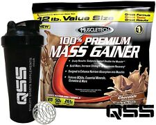 MUSCLETECH 100% PREMIUM MASS WEIGHT GAINER 5,4KG ADDED BCAA'S CREATINE FREE SHAK