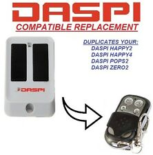 DASPI ZERO2 Replacement remote control transmitter, Replacement, clone 433,92MHz