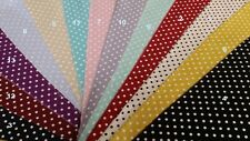 100%  Cotton Small Polka Dots , HIGH QUALITY