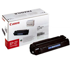 GENUINE CANON EP27 / EP-27 / 8489A002AA BLACK LASER PRINTER TONER CARTRIDGE