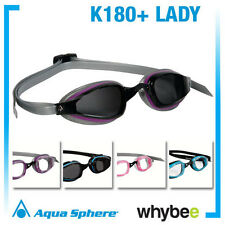 AQUA SPHERE K180+ LADIES SWIMMING GOGGLES - WOMENS GIRLS FEMENS SWIM GOGGLES