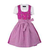 Ramona Lippert Kinderdirndl Fee pink Dirndl Set 3-tlg
