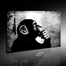 Banksy The Thinker Monkey Graffiti Street art Impresiones ARTÍSTICAS cuadro