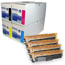 REMANUFACTURED NON-GENUINE TN241 BK / TN245 CMY TONER CARTRIDGES FOR BROTHER