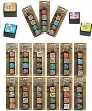 TIM HOLTZ DISTRESS MINI INK PAD or DISTRESS MINI INK KIT. DISTRESS KITS.