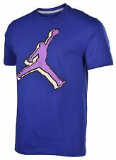 Jordan Men's Nike Shadow Air Jumpman T-Shirt-Royal Blue