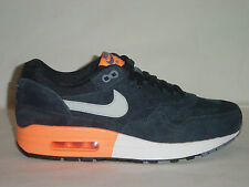 Nike Air Max 1 Premium Rare Dark Obsidian Leather suede Trainers 512033400