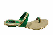SKETCH  BRANDED CASUAL CHAPPAL IN BEIGE GREEN COLORS MRP 999 60% DISCOUNT 399