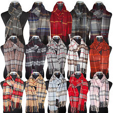 Herbst Winter Schal Original FRAAS Nova Check Muster Kariert Tuch Made inGermany