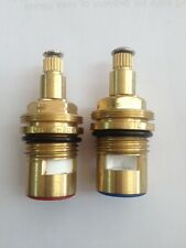 Ceramic Tap Valve 1/2'' (Hot & Cold) Pair 20 Spline