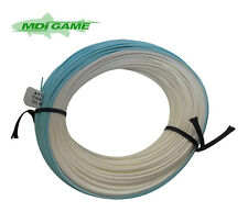 MDI Game Salmon Spey Full Length 40yds Floating Fishing Fly Lines -Blue & White