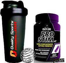 CUTLER PRO STIM 30 CAPS WEIGHT LOSS FAT BURNER SUPER CONCENTRATED STRONG FORMULA