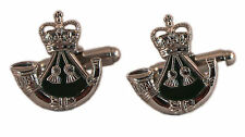 RIFLES REGIMENT BOXED,  ENEMAL GIFT SET,CUFFLINKS, LAPEL PIN, TIE SLIDE