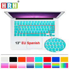 Spanish Silicone Keyboard Cover Skin Protector For Macbook Pro Air Retian 13 15