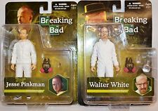 Breaking Bad Jesse Pinkman and Walter White Figures in White Hazmat Suit - SALE