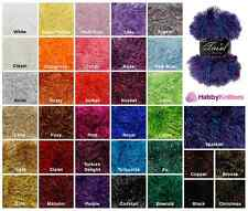 King Cole Tinsel Chunky Fancy Yarn / Eyelash Wool / Patterns For Sale Here Too!!