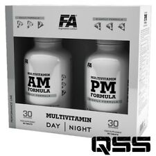 FITNESS AUTHORITY FA NUTRITION MULTIVITAMIN AM & PM MINERALS MULTI VITAMIN 90+90