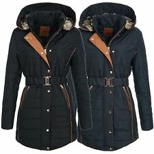BOL Damen Jacke Steppjacke Mantel Wintermantel Winterjacke 14809 S-XL