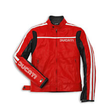 DUCATI DAINESE 80 ´ S ´ 14 Giacca in pelle giacca pelle giacca Rosso NUOVO