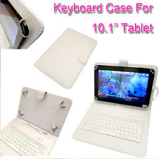 "PU LEATHER KEYBOARD CASE COVER FOR YARVIK NOBLE 10'' INCH 10.1"" ANDROID TABLET"