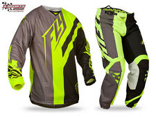 Fly Racing Kinetic Division Motocross Combo 2015 Neon MX Enduro Hose Jersey