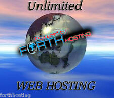 Unlimited Website Hosting Free Software Bundle + Web Site Builder Included
