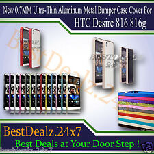 Brand New Ultra Slim Metal Bumper Frame Cover Case for HTC Desire 816 816g