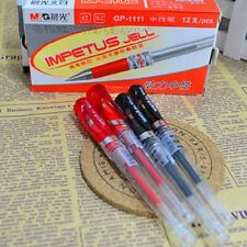 M&G GP-1111 Office School 0.7mm Black/Red Rollerball Black/Red ink Gel Pens
