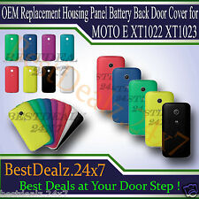 OEM Replacement Housing Panel Battery Back Door Cover for MOTO E XT1022 XT1023