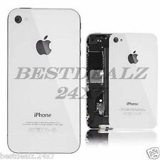 New Replacement Battery Door Back Glass Panel for Apple iPhone 4 4G
