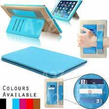 Leather Case Stand Wallet Smart Slim Protective Cover Fip Apple iPad Air Air 2