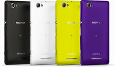 100% ORIGINAL SONY XPERIA M & M DUAL BACK BATTERY DOOR HOUSING COVER PANEL