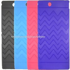 Designer Soft Silicon Back Cover Case Pouch For Sony Xperia Ultra Z XL39H C6802