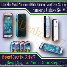 Ultra Slim Metal Aluminum Blade Bumper Case Cover Skin for Samsung Galaxy S4 IV