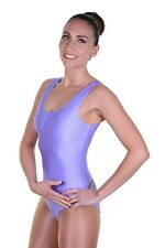 Lycra Leotard Sleeveless Plain Front - Girls Dance Leotard - (NICOLA)