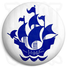 Blue Peter Badge - 25mm Retro Kids TV Button Badge with Fridge Magnet Option