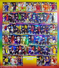 Panini Adrenalyn Champions League 2014 2015 15  FANS FAV., DEF. ROCKS,LIMITED ED