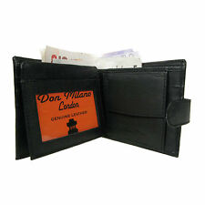 New Mens Luxury Soft Black Quality Leather Wallet,Credit Card Holder Purse  125