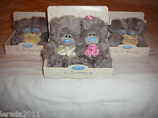 WEDDING DAY OR  ANNIVERSARY BEARS PLUSH ME TO YOU TATTY TEDDY CUTE GIFT PRESENT