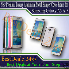 New Premium Luxury Aluminium Metal Bumper Cover Frame for Samsung Galaxy A5 A-5